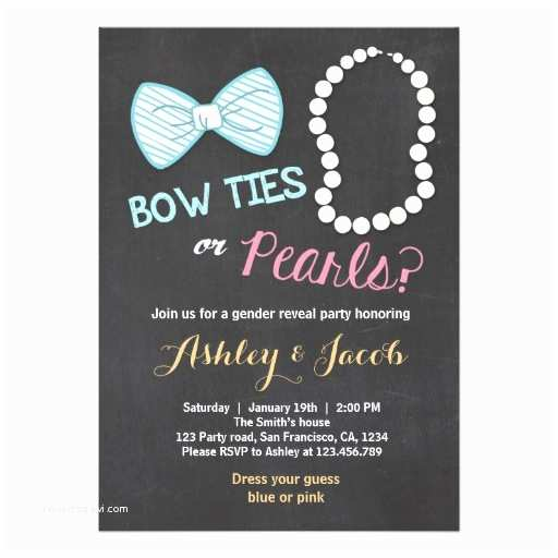 Gender Reveal Invitation Ideas Baby Gender Reveal Party Invites & Ideas