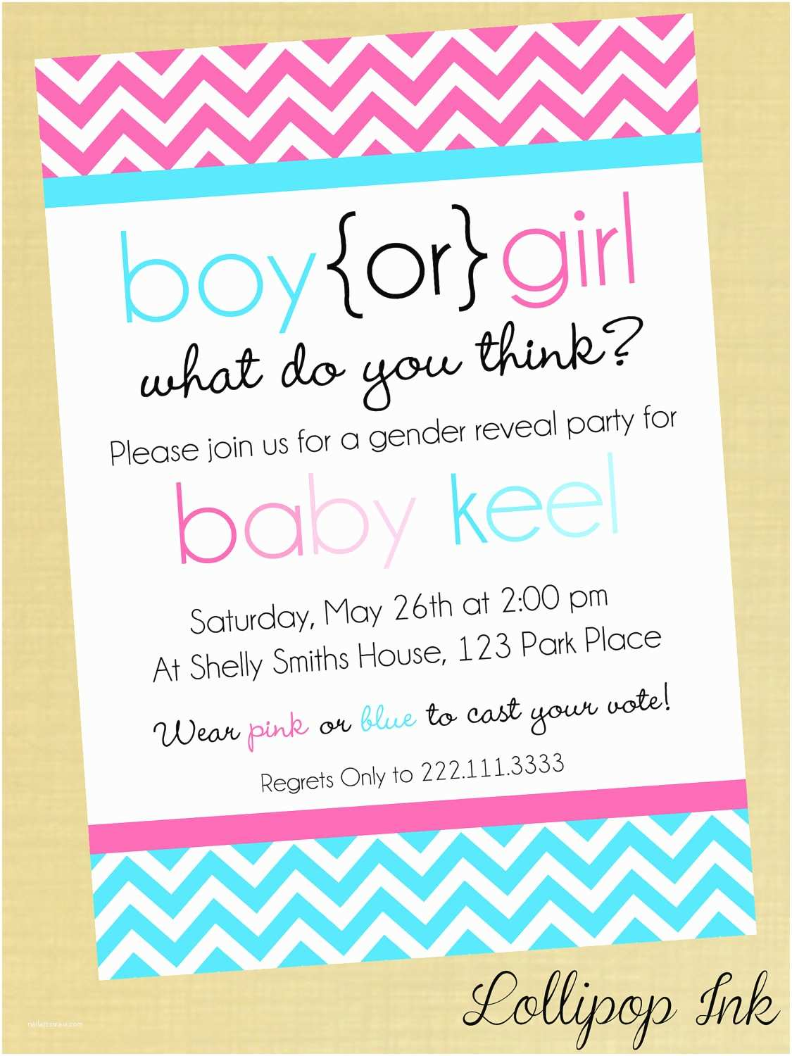 Gender Reveal Invitation Wording Gender Reveal Baby Shower Quotes Quotesgram