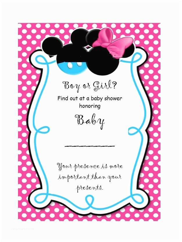 Gender Reveal Invitations 17 Free Gender Reveal Invitation Templates Template Lab