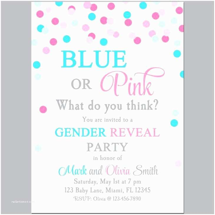 Gender  Party Invitation Template Gender  Party Invitation Template Gender