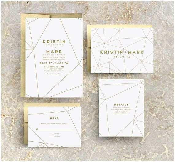Geometric Wedding Invitations Best 25 Geometric Wedding Ideas On Pinterest