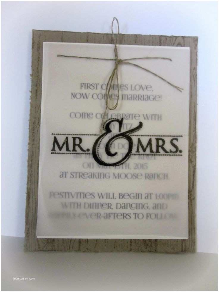 Gift Ideas Made From Wedding Invitations 25 Best Ideas About Handmade Wedding Invitations On