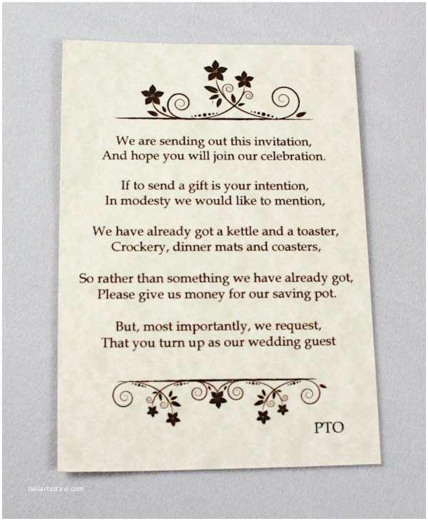 Wedding Money Gift Poem Midway Media