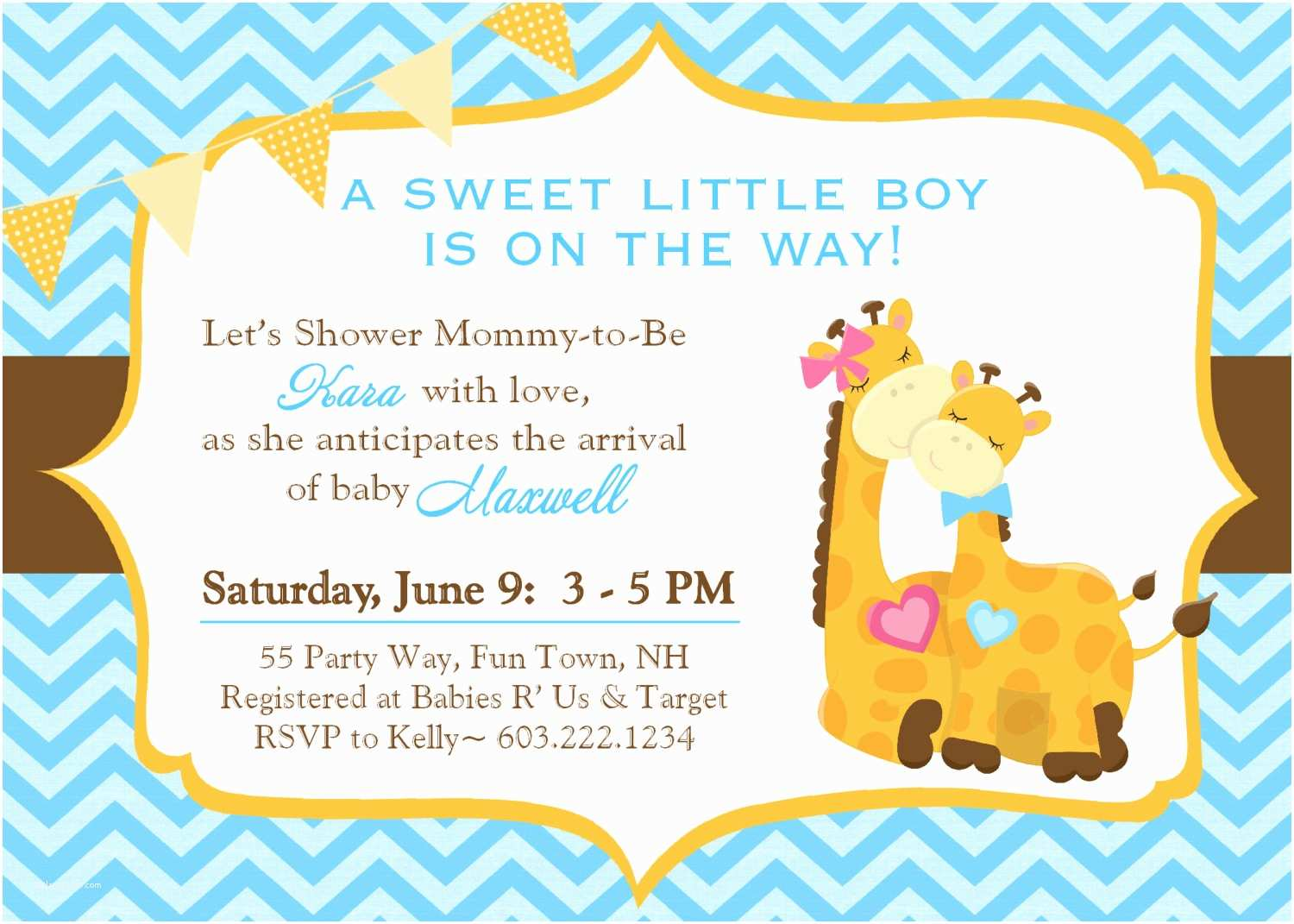 Giraffe Baby Shower Invitations Design Giraffe Baby Shower Invitations