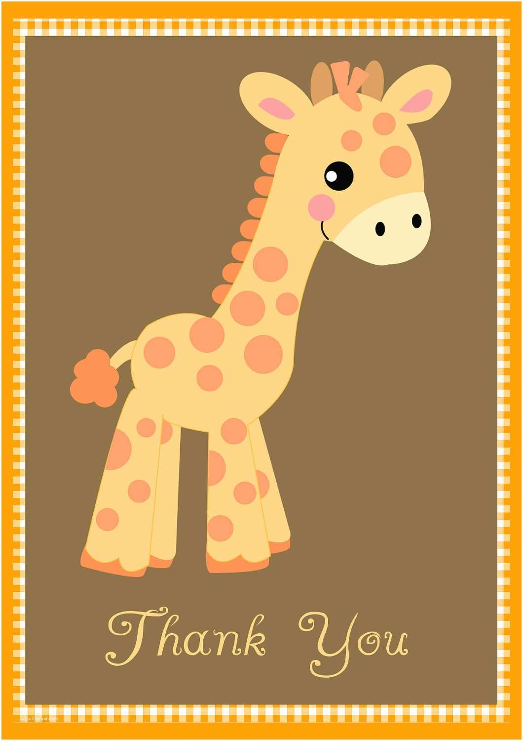 Giraffe Baby Shower Invitations Free Giraffe Birthday and Baby Shower Invitation Templates