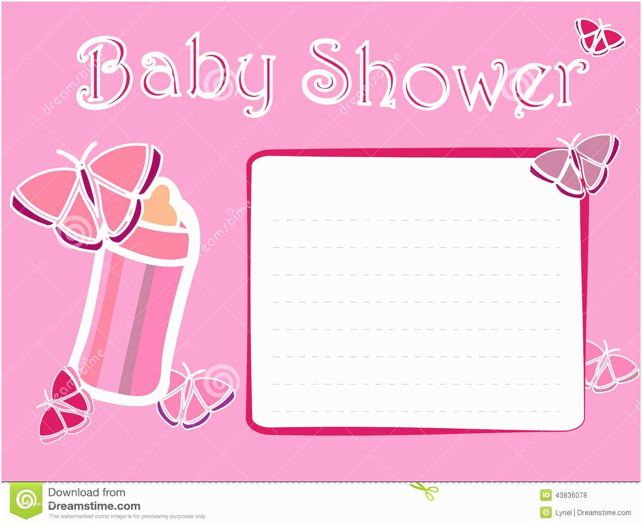 Girl Baby Shower Invitation Baby Shower Invitations Wording Page 1 Sports themed