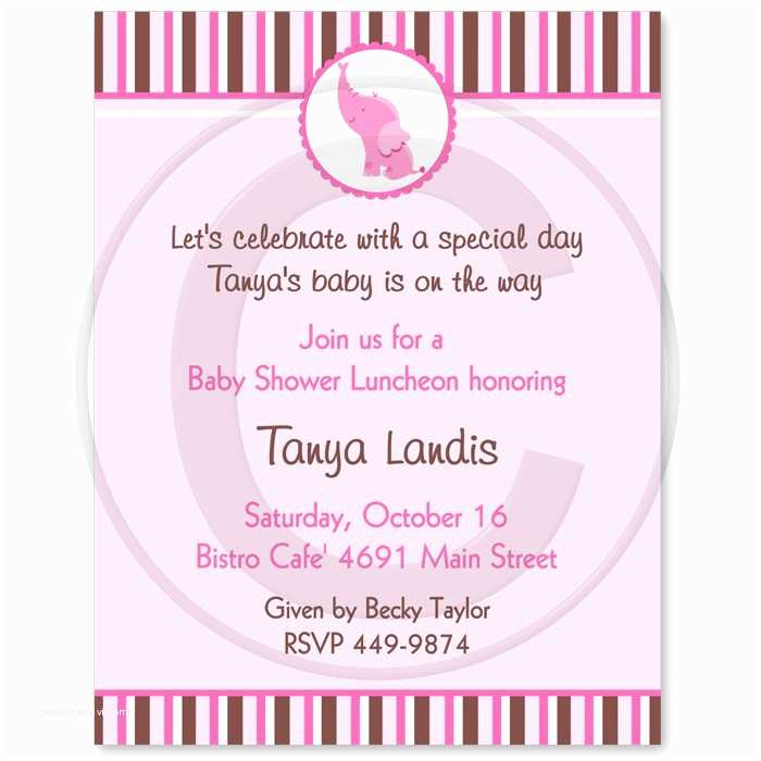 Girl Baby Shower Invitation Wording Girl Baby Shower Invitation Wording