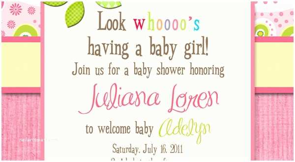 Girl Baby Shower Invitation Wording Wording for Baby Girl Shower Invitations Party Xyz
