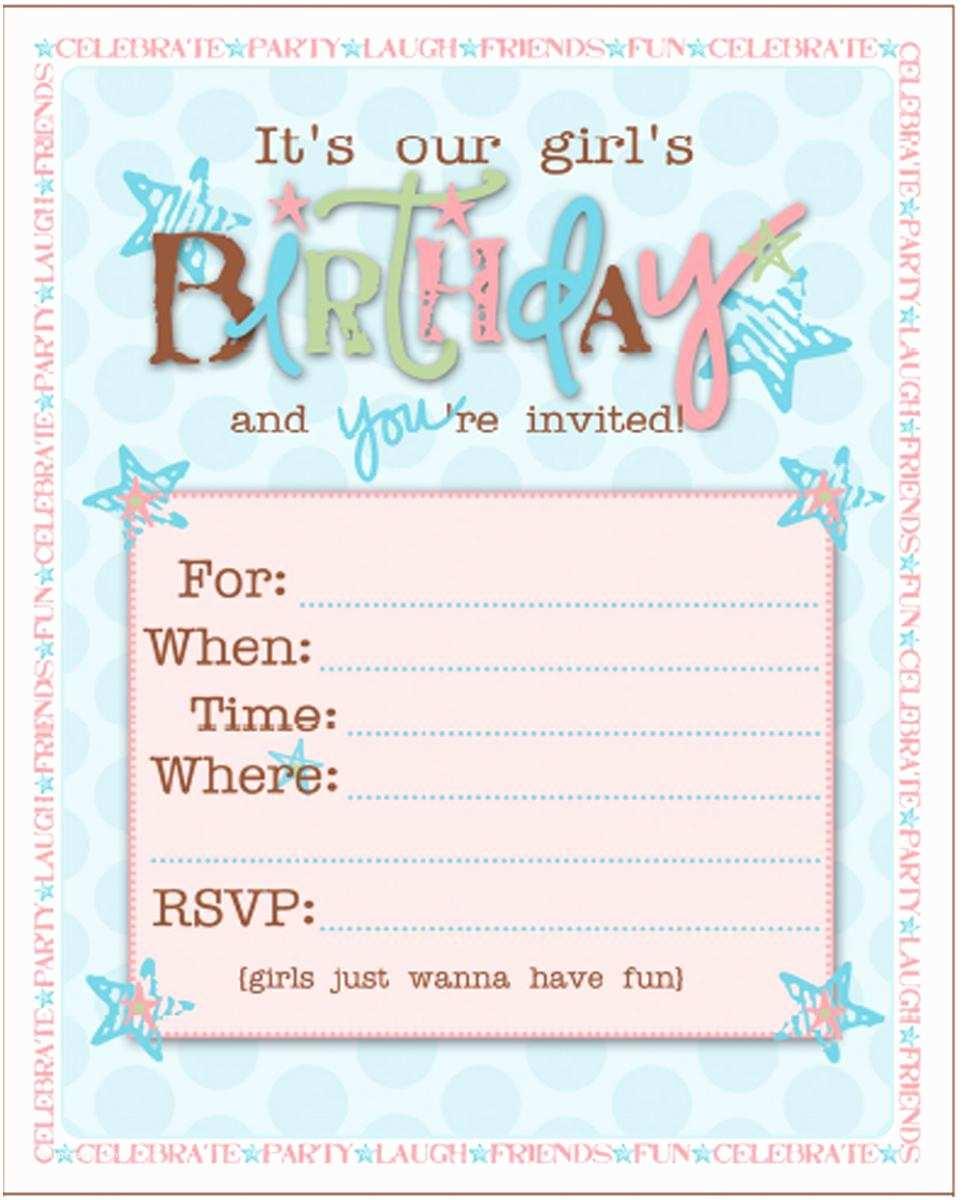 Girls Birthday Party Invitations 21 Teen Birthday Invitations Inspire Design Cards