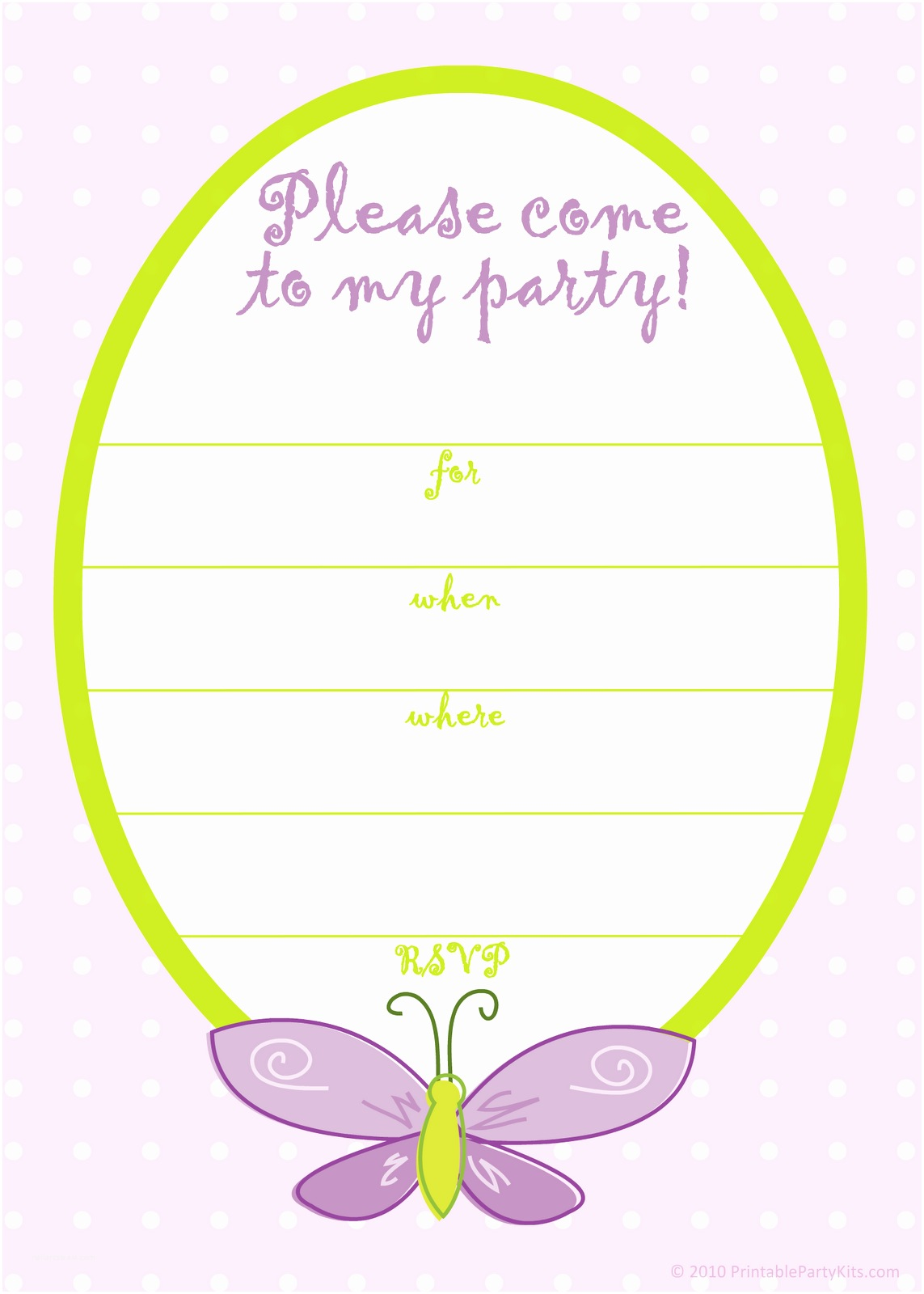 Girls Party Invitations Birthday Invitations Templates for Girls Free
