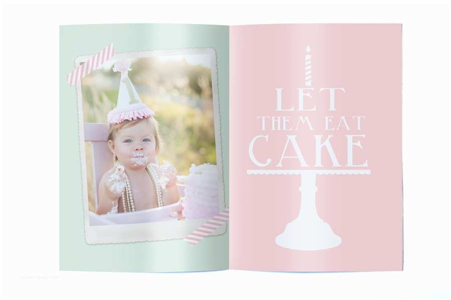 Glamorous Party Invitation Wow Royal First Birthday Party Booklet Invitation Modern Moments