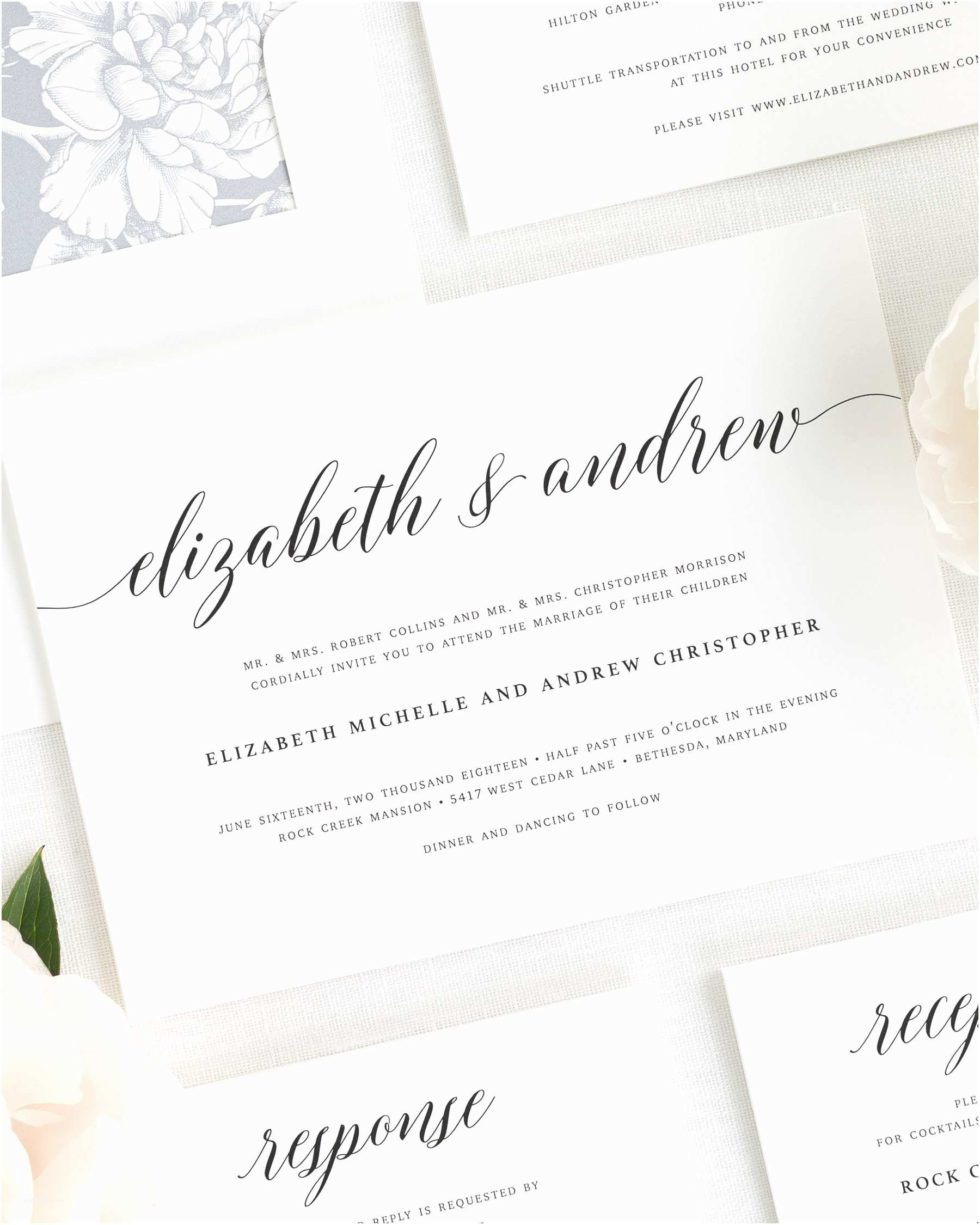 Glamorous Wedding Invitations 2016 Wedding Invitations by Shine Wedding Invitations