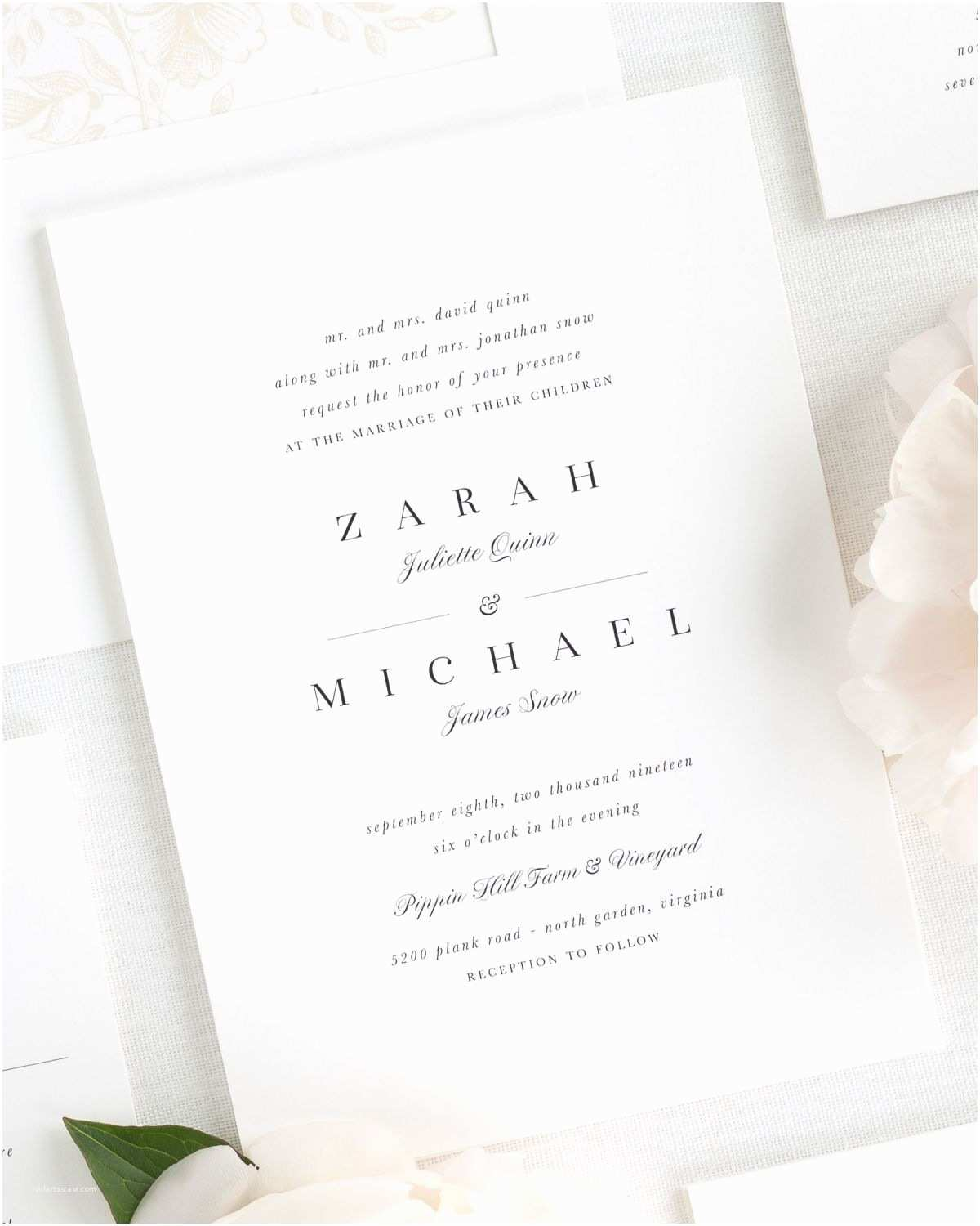 Glamorous Wedding Invitations Fancy Elegant Invitation Template Inspiration Resume