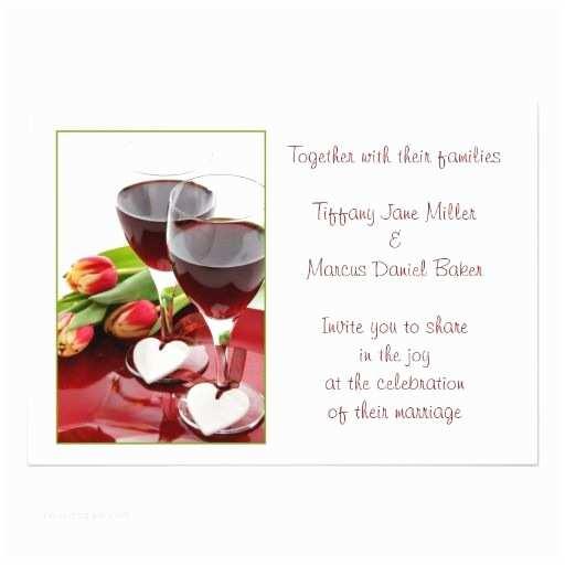 Glass Wedding Invitation Cards 224 Best Red Wine Glasses Wedding Invitations Images On