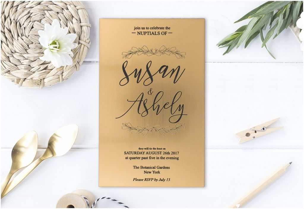 Glass Wedding Invitation Cards 3 Acrylics for Crisp & Clean Typography Designs