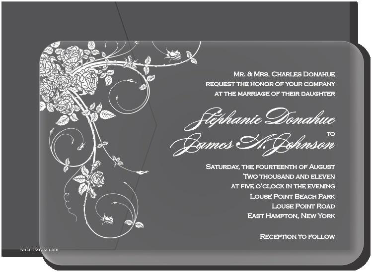 awe inspiring glass wedding invitations