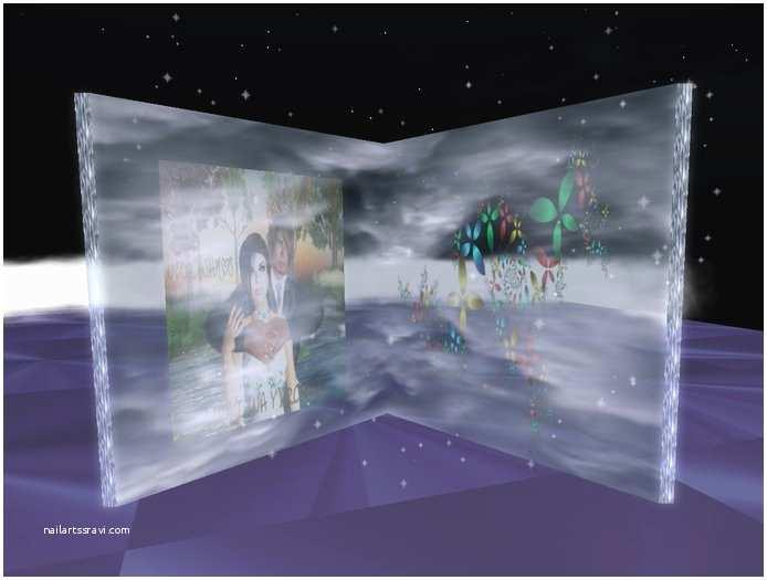 Glass Wedding Invitation Cards Second Life Marketplace Wedding Invitation Glass