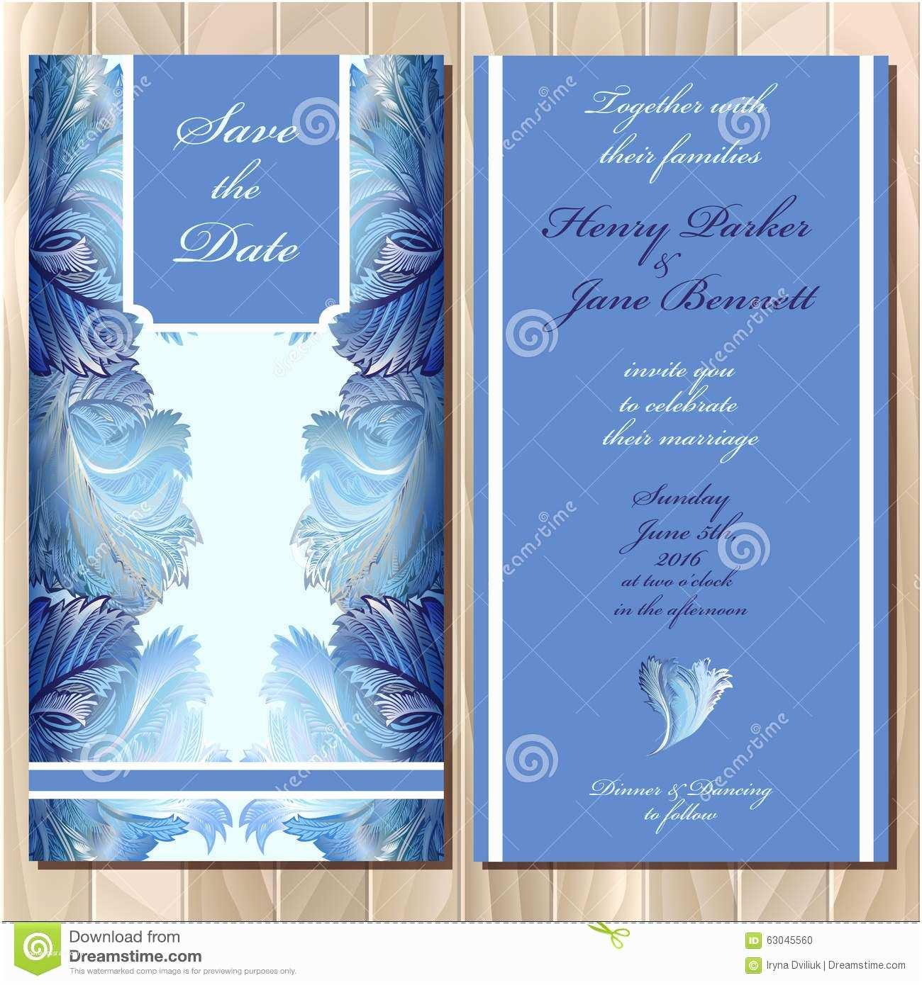 Glass Wedding Invitation Cards Winter Frozen Glass Design Wedding Invitation Card