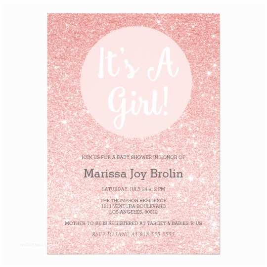 Glitter Baby Shower Invitations Baby Shower Invitations & Announcements