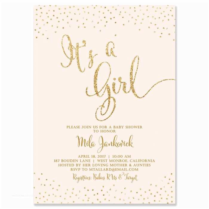 Glitter Baby Shower Invitations Best 25 Glitter Baby Showers Ideas On Pinterest
