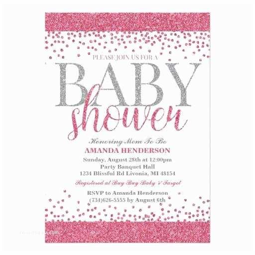 Glitter Baby Shower Invitations Glitter Baby Shower Invitations –