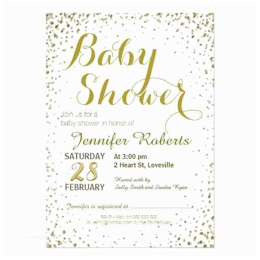 Glitter Baby Shower Invitations Glitter Baby Shower Invitations
