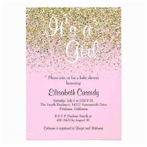 Glitter Baby Shower Invitations Glitter Baby Shower Invitations