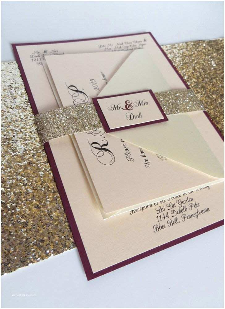 Glitter Wedding Invitations Best 25 Glitter Wedding Ideas On Pinterest