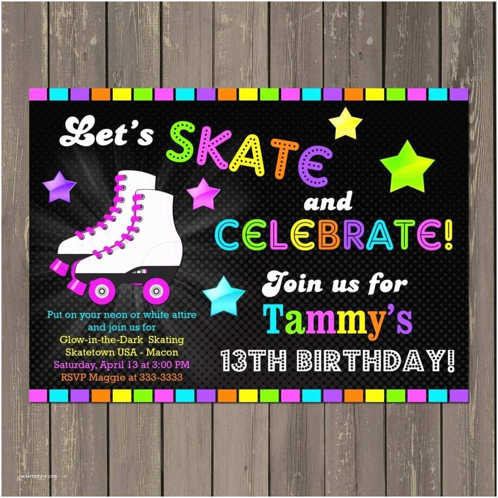 Glow In the Dark Party Invitations Amazing Neon Party Invitations Party Ideas Hq