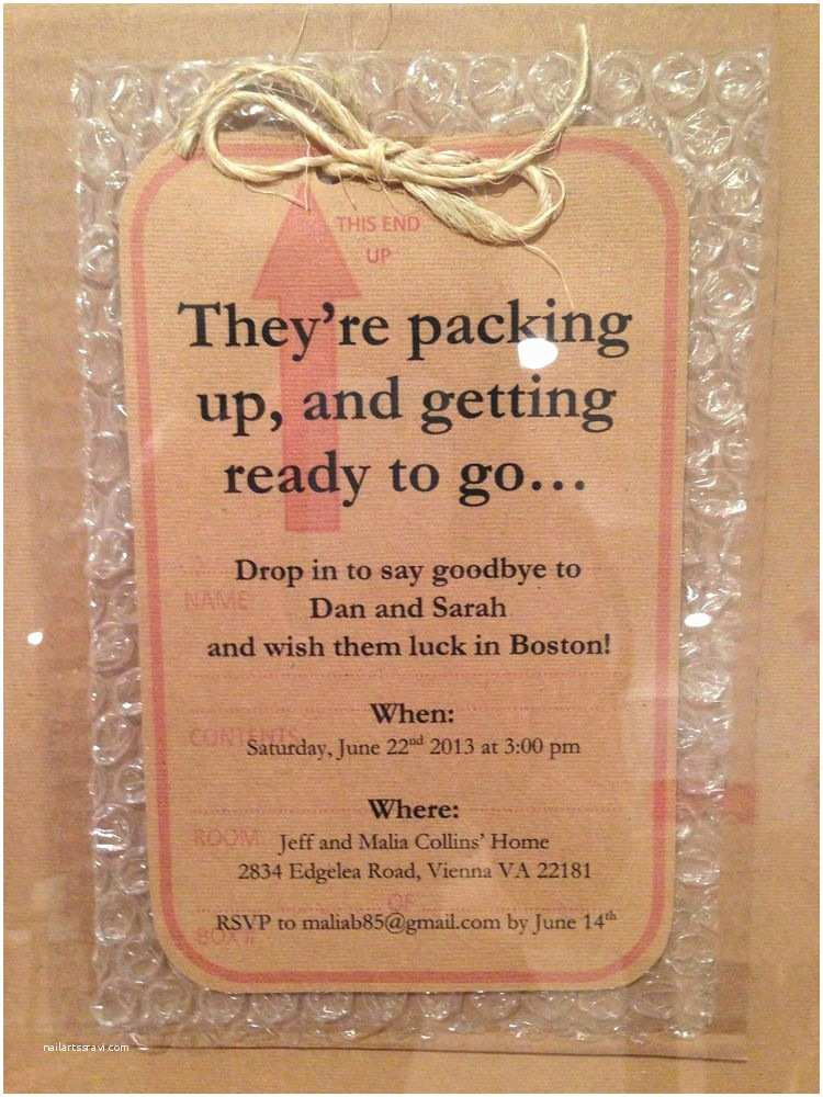 Going Away Party Invitation 1000 Ideas About Going Away Parties On Pinterest