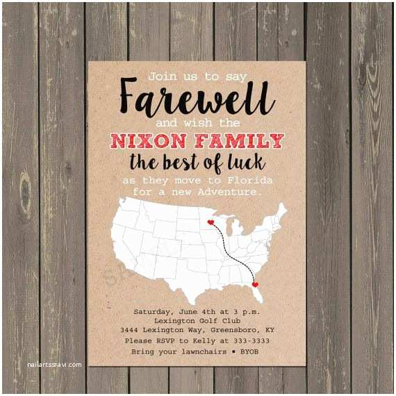Going Away Party Invitation Best 25 Farewell Parties Ideas On Pinterest