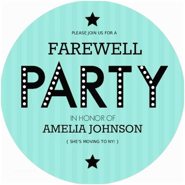 Going Away Party Invitation Farewell Party Invitation Clipart 5