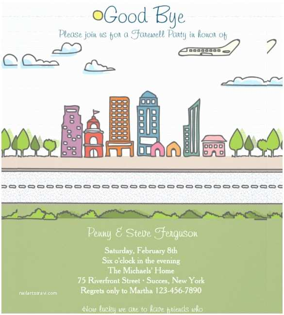Going Away Party Invitation Template Going Away Flyer Planet Flyers