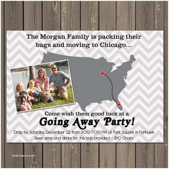 Going Away Party Invitation Template Going Away Party Invitation Moving Farewell Party Invitation