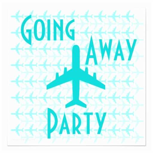 Going Away Party Invitation Wording Invitation to Airplane Party