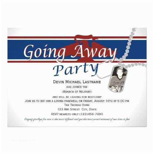 Going Away Party Invitation Wording Military Going Away Party Invitation Wording