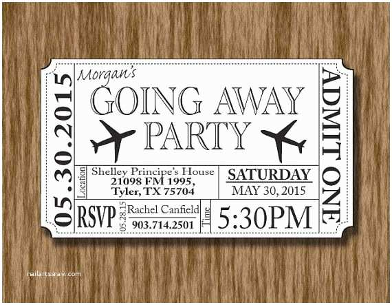 Going Away Party Invitations Best 25 Farewell Parties Ideas On Pinterest