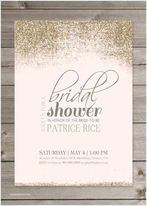 white bridal shower