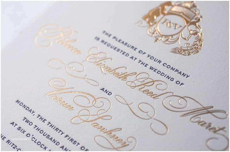 Gold Laser Cut Wedding  Rebecca Varun S Lasercut And Gold Foil Wedding