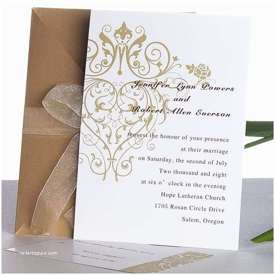 Golden Wedding Anniversary Invitations Golden Wedding On Pinterest