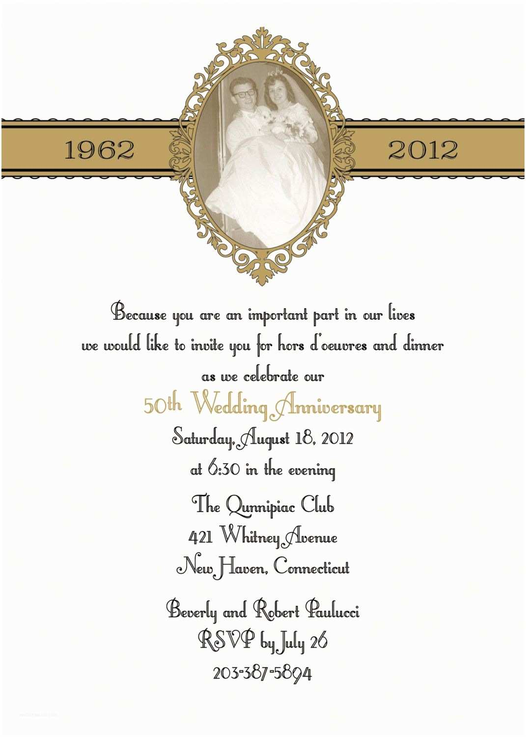Golden Wedding Anniversary Invitations Wording for Golden Wedding Invitations Uk – Mini Bridal