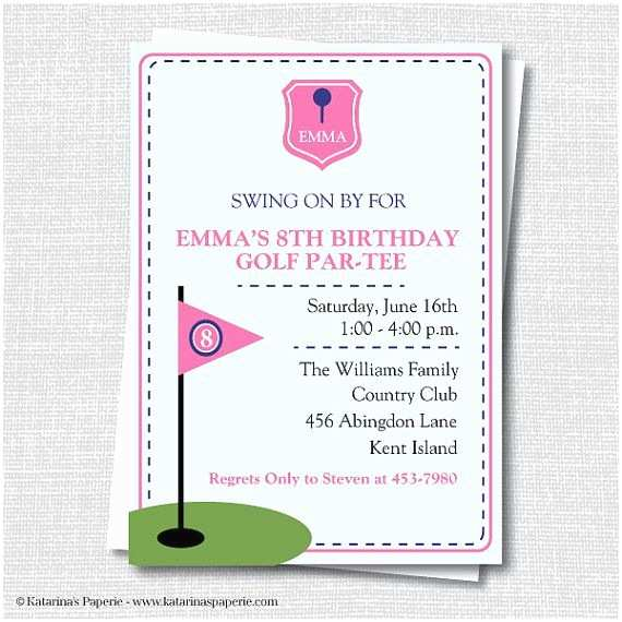Golf Party Invitation 57 Best Images About Mini Golf Party On Pinterest