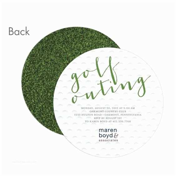 Golf Party Invitation Golf Outing Invitation Idea Works for Both A Corporate