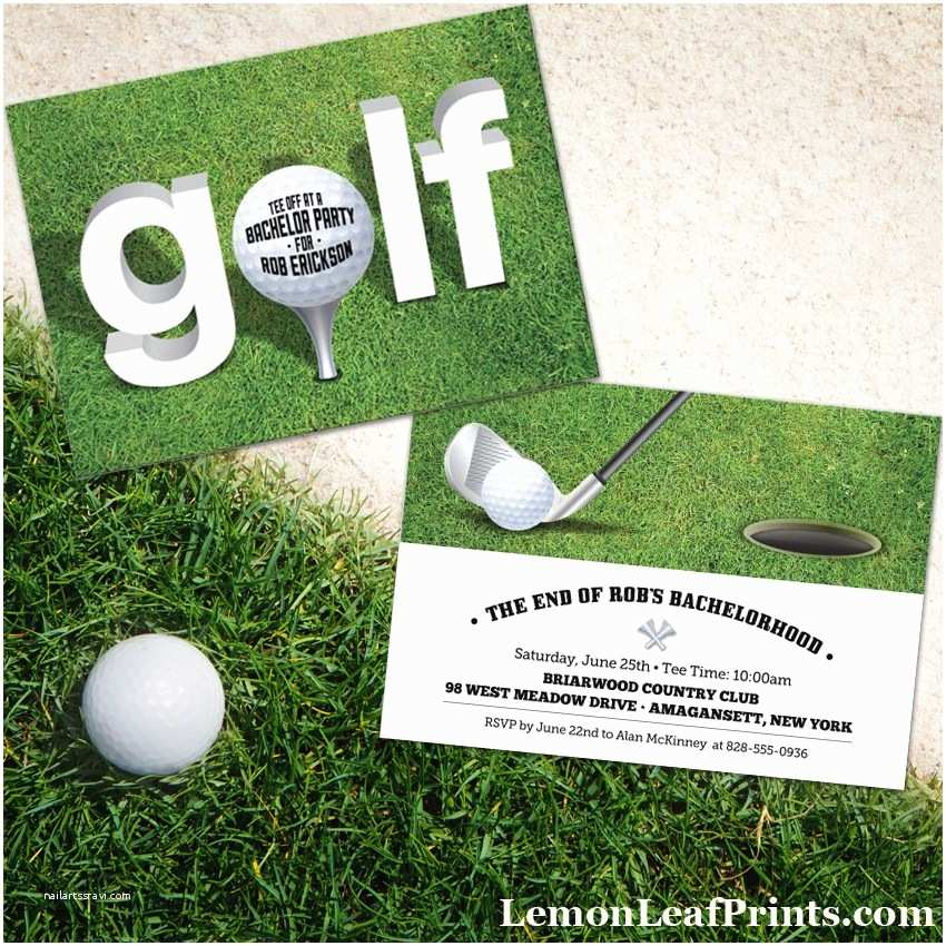 Golf Party Invitation Party Simplicity Looking for Cool Golf themed Party