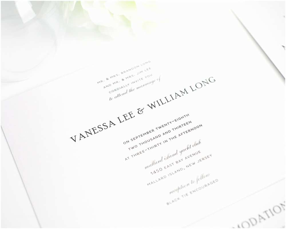 Good Wedding Invitation Wording Classic Wedding Invitations Classic Wedding Invitations