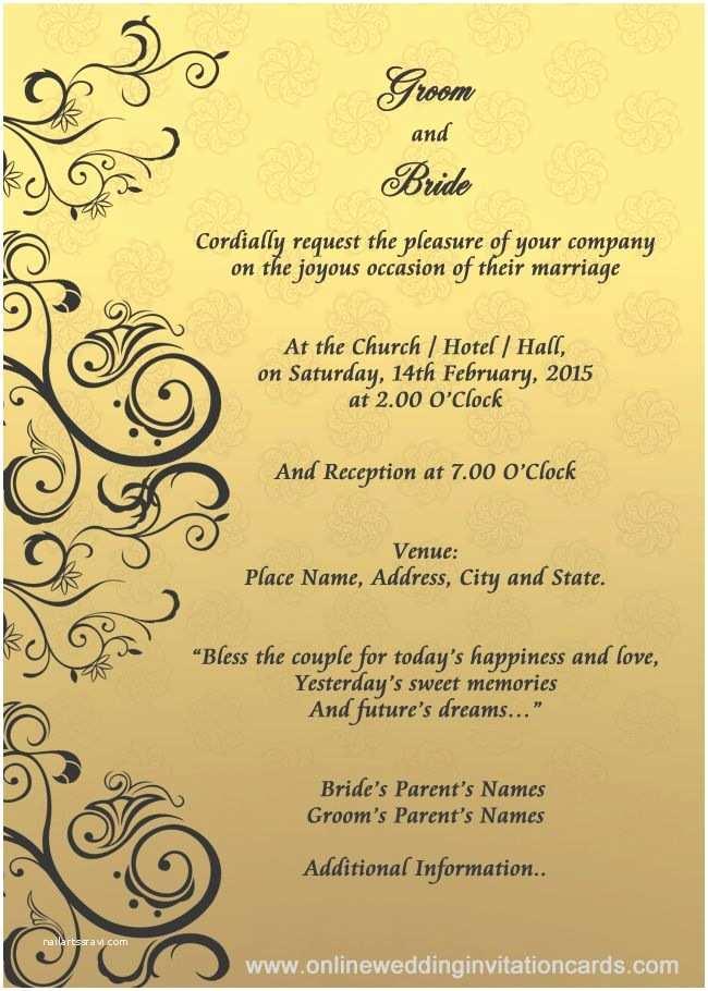 Good Wedding Invitation Wording Wedding Invitation Designs Templates Google Search