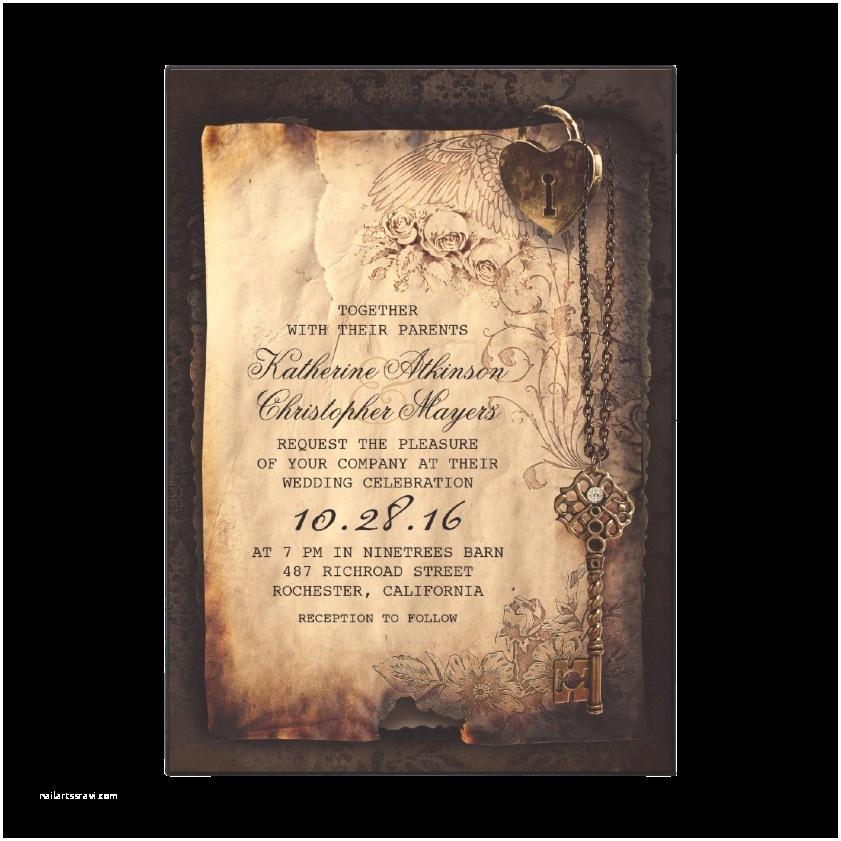Gothic Wedding Invitations Dark and Debonair Invitations for Gothic Weddings
