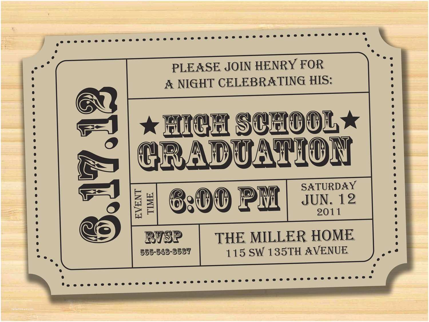 Grad Party Invitations Save the Date Graduation On Pinterest
