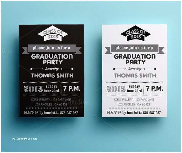 Grad Party Invites 10 Sample Graduation Card Templates