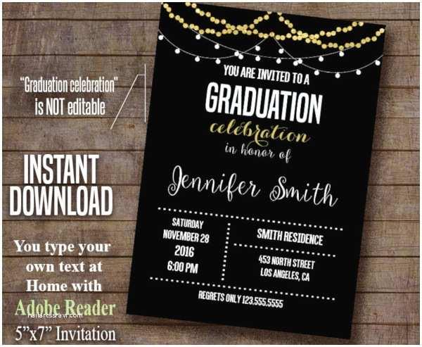 Grad Party Invites 19 Sample Graduation Invitations Psd Vector Eps